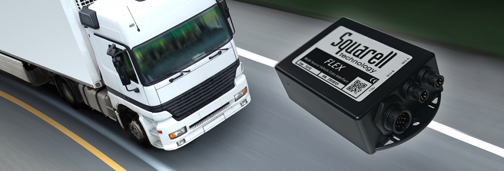 Squarell FMS (Fleet Management System) data solution