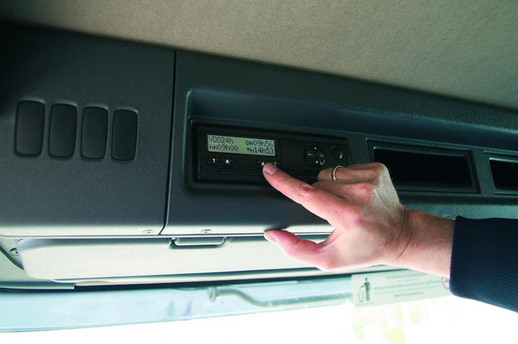 Tachograph download