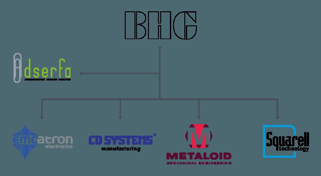 Buysman Holding Group organogram