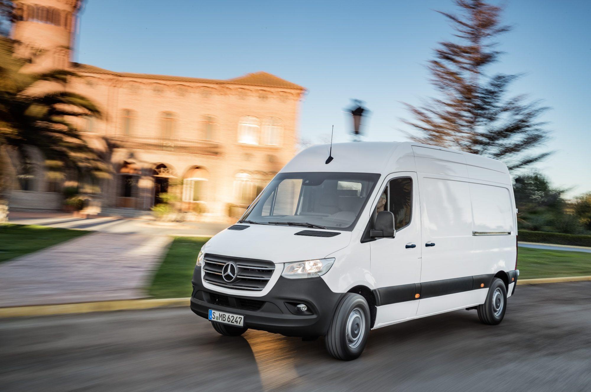 Derde Generatie Mercedes Benz Sprinter 2018