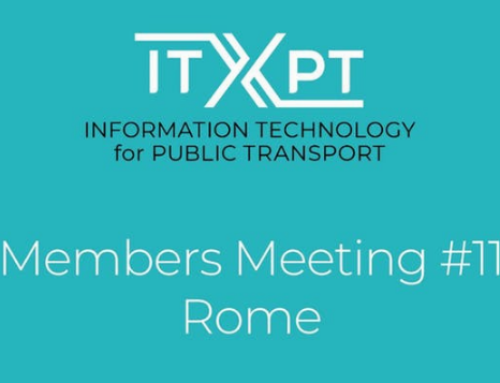 Squarell attends the ITxPT Members Meeting, 14-15 Nov. in Rome