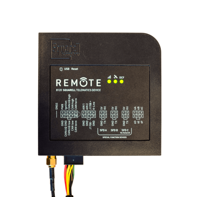 The REMOTE is Squarell's latest telematics device and modem in one