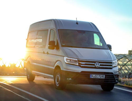 Squarell now also supports the Volkswagen e-Crafter