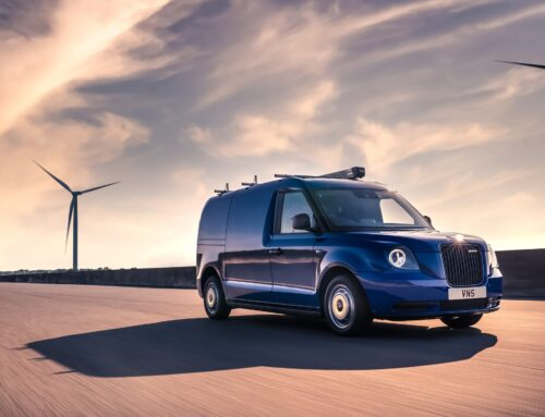 Squarell added vehicle support for LEVC electric vans