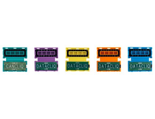 Nieuwe kleuren voor de DatacliQ: Squarell's contactloze voertuigdatalezer